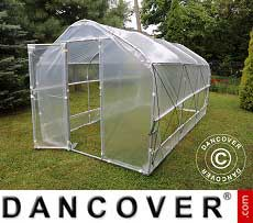 Polytunnel Greenhouse Plus 4x15x2.40 m