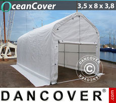 Boat shelter 3.5x8x3x3.8 m