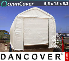 Storage tent 5.5x15x4.1x5.3 m