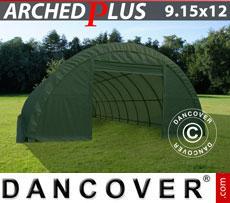 Storage tent 9.15x12x4.5 m PVC, Green