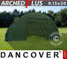Storage tent 9.15x20x4.5 m PVC Green