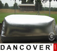 Carcoon 6.1x2 m Silver, Outdoor