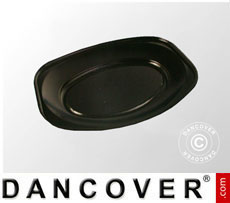 Serving Plates 30.5x44.5x3.5 cm, 15 pcs. Black