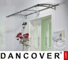Door canopy 0.92x2.05 m, Silver
