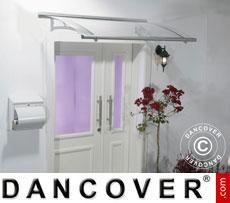 Door canopy 0.92x1.5 m, Silver