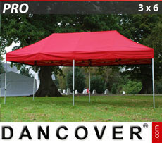 Pop up gazebo FleXtents PRO 3x6 m Red