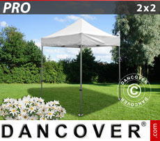 Pop up gazebo FleXtents PRO 2x2 m White