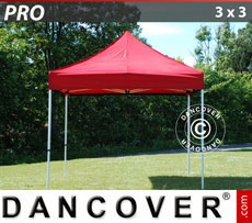 Pop up gazebo FleXtents PRO 3x3 m Red