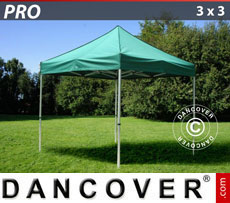 Pop up gazebo FleXtents PRO 3x3 m Green