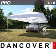 Pop up gazebo FleXtents PRO 3x6 m White
