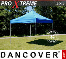 Pop up gazebo FleXtents Xtreme 3x3 m Blue