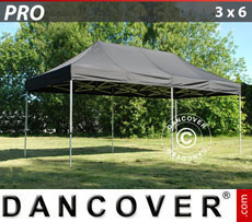 Pop up gazebo FleXtents PRO 3x6 m Black