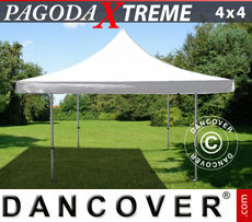 Pop up gazebo FleXtents Pagoda Xtreme 4x4 m / (5x5 m) White
