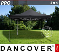 Pop up gazebo FleXtents PRO 4x4 m Black