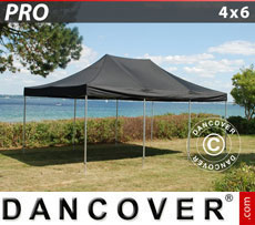 Pop up gazebo FleXtents PRO 4x6 m Black
