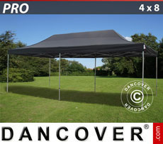 Pop up gazebo FleXtents PRO 4x8 m Black