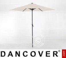 Parasol Ø 3 m, White