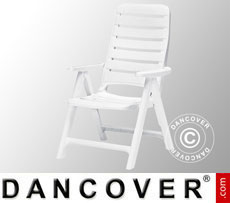 Garden chair Premiere White, 6 pcs.