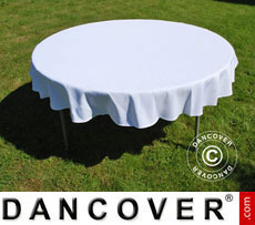 Tablecloth, dining, diameter154x20 cm.