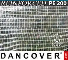 Tarpaulin 10x16 m PE 200 g/m² Clear
