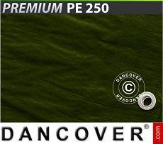 Tarpaulin 6x8 m PE 250 g/m² Green, 2 pcs.