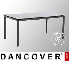 Garden table, Alutapo, 95x160x74cm, Grey
