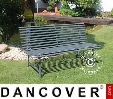 Garden bench, Dark grey