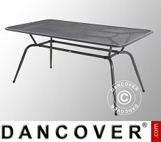 Garden table, Conello, 90x160x74cm, Iron Grey