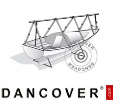 Deck frame for boat cover, NoTool, 6 m