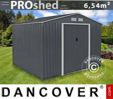 Garden Shed 2,77x2,55x2,02 m ProShed, Anthracite