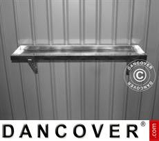 Steel tool rack for garden shed, ProShed