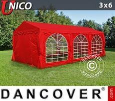 Marquee UNICO 3x6 m, Red