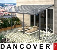 Patio cover Malibu, 3.05x5.57m, Dark Grey