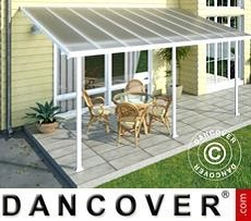 Patio Cover Feria 3x5.46 m, White