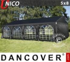 Marquee UNICO 5x8m, Black