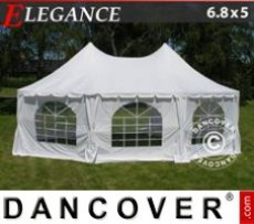 Marquee Elegance 6.8x5 m, Off-White