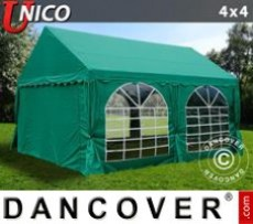 Marquee UNICO 4x4 m, Dark Green