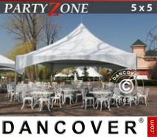 Marquee Pagoda PartyZone 5x5 m PVC