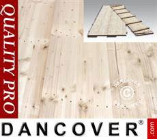 Flooring 150x50x2,2cm, Pine, 9m²