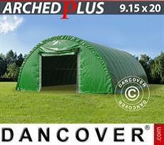 Camper Caravan Tents Storage tent 9.15x20x4.5 m PVC, Green