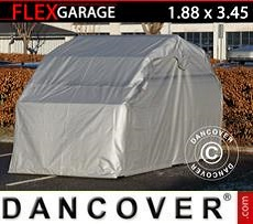 Car Cover Folding garage (MC), 1.88x3.45x1.9 m, Grey