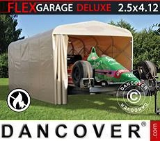 Car Cover Folding tunnel garage (Car), 2.5x5.15x2.15 m, Beige