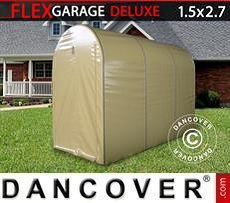 Car Cover Folding tunnel garage (MC), 1.5x2.7x2.05 m, Beige