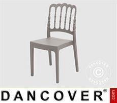 Event Furniture Chair, Napoleon, Grey, 6 pcs.