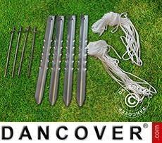 Flexshelter Work Tents 5SPeg and rope set, PRO