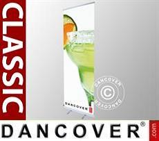 Logo Print Branding Roller banner Classic 85x200 cm, single sided