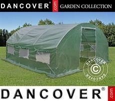 Polytunnel Greenhouse 4x4x2 m, Green