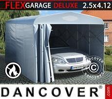 Portable Garage Folding tunnel garage (Car), 2.5x4.12x2.15 m, Grey