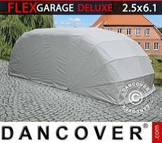Portable Garage Folding garage (Car), ECO, 2.5x6.1x2 m, Grey
