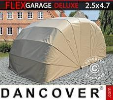 Portable Garage Folding garage (Car), ECO, 2.5x4.7x2 m, Beige